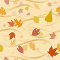 Autumn Wind Background Royalty Free Stock Photo