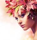 Jeseň žena