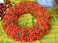 Autumn wreath Royalty Free Stock Photo