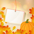 Autumnal Background Royalty Free Stock Photo