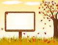 Autumnal Banner Royalty Free Stock Images