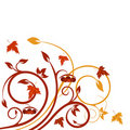 Autumnal design Stock Photos