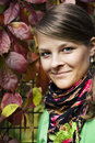 Autumnal Portrait Royalty Free Stock Photo