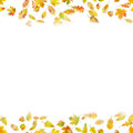 Autumnal seamless background. EPS 10 vector