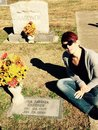 Ava Gardner's gravesite Royalty Free Stock Photo