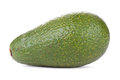 Avacado closeup on white background Royalty Free Stock Images