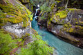 Avalanche Gorge Stock Photography