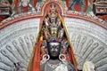 Avalokitesvara - Thousand hands Buddha statue from Ladakh Royalty Free Stock Photo