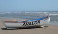 Avalon Beach Patrol Boat Royalty Free Stock Photo