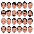 Avatar, men portraits.