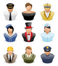 Avatar People Icons : Occupation # 2 Stock Photography