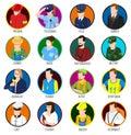 Avatar Professions Icon Set