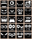 Avatars Black Stock Image