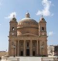 Ave regina coelorum malta church on the spanish island Royalty Free Stock Image