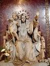 Ave Regina Pacis statue at Basilica di Santa Maria Maggiore Royalty Free Stock Photo