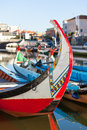 Aveiro gondola detail Royalty Free Stock Photography