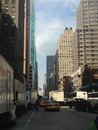 Avenue of the americas th in new york ny Royalty Free Stock Images
