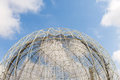 Aviary dome of the globular Stock Photos