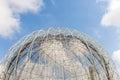 Aviary dome of the globular Stock Photos