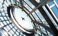 Aviation, Airplane, Architecture Royalty Free Stock Photo