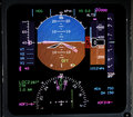 Aviation lcd display Stock Image