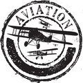 Aviation stamp