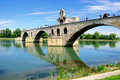 Avignon bridge. Royalty Free Stock Photo
