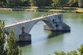 Avignon bridge Royalty Free Stock Photo