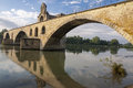 Avignon broken bridge Royalty Free Stock Photo