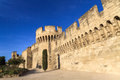 Avignon Medieval City Wall Royalty Free Stock Image