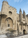 Avignon palais des papes vaucluse provence alpes cote d azur france palace of the popes Royalty Free Stock Image