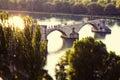 Avignon Pont Saint Benezet Royalty Free Stock Photo