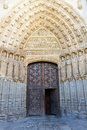 Avila cathedral gothic church in spain Royalty Free Stock Image