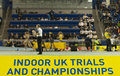 Aviva Indoor UK Trials and Championships Stock Photo
