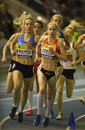 Aviva Indoor UK Trials and Championships Stock Photography