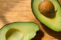 Mexican avocado halves Royalty Free Stock Photo