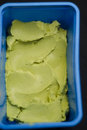 Avocado icecream Royalty Free Stock Photography