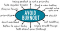 Avoid burnout Royalty Free Stock Photo