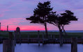 Avon NC Sunset Over The Sound