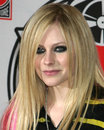 Avril lavigne best damn thing cd signing virgin mega store hollywood highland complex hollywood ca april copyright Royalty Free Stock Photos
