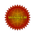 Award badge Royalty Free Stock Photo