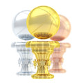 Award basketball sport trophy cup Royalty Free Stock Photo