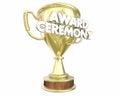 Award Ceremony Trophy Presenta...