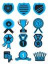 Award Medal Icon Set