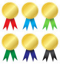 Award medals Stock Photos