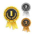 Award ribbon Stock Images