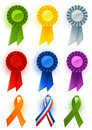 Award ribbon Royalty Free Stock Images