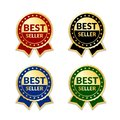 Award ribbon the best seller Royalty Free Stock Photo