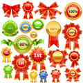 Award ribbons Royalty Free Stock Photography