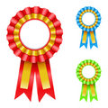 Award Rosette Stock Image